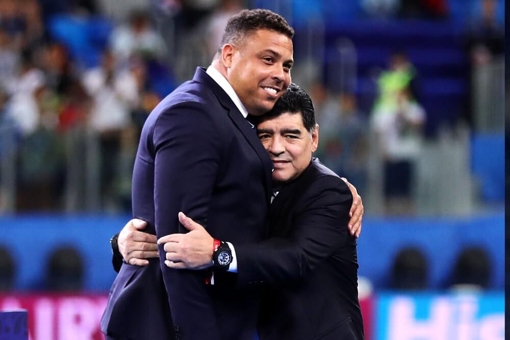 Ronaldo Nazario DIego Maradona 011220 Getty Images E.jpg