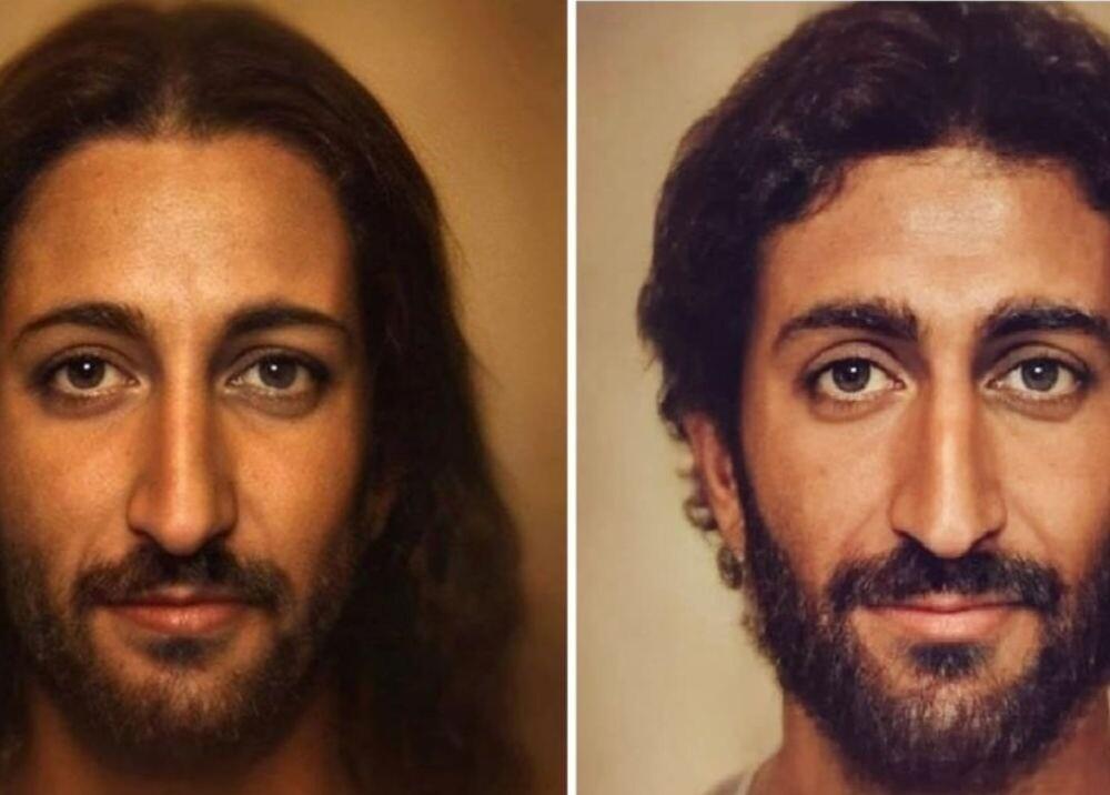 373367_Retrato de Jesus / Artista Bas Uterwjk,