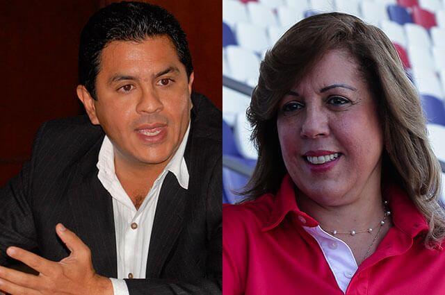 Jorge Iván Ospina y Clara Luz Roldán. Fotos: archivo Colprensa.