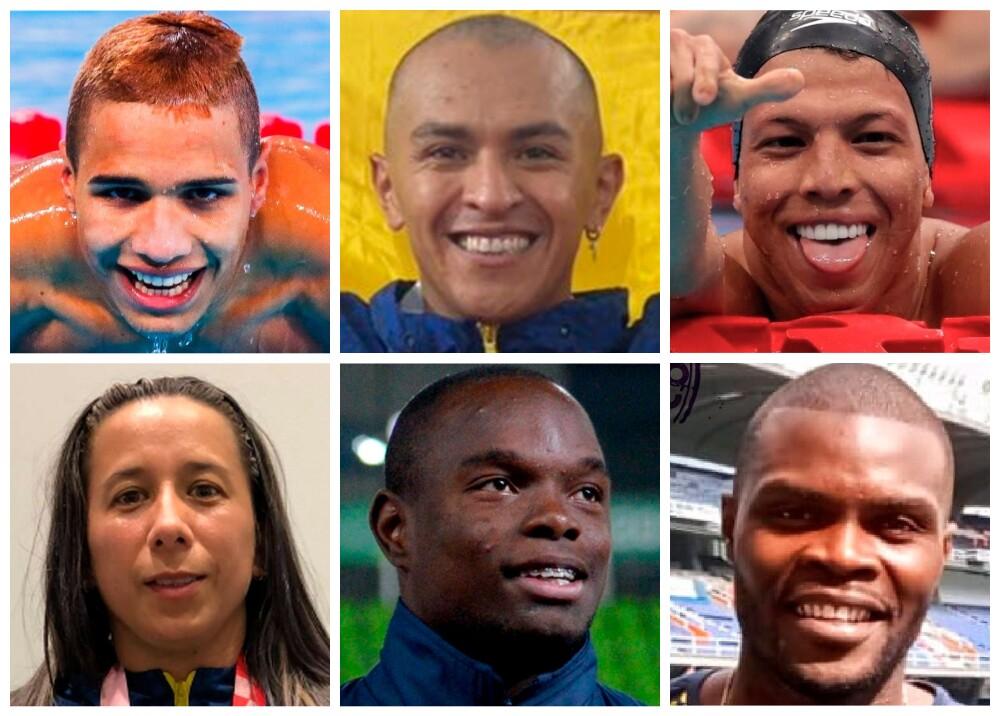 Medallistas colombianos en los Juegos Paralímpicos