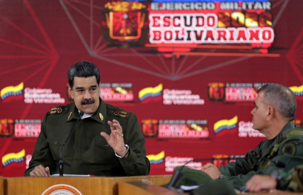 Nicolás Maduro y su ministro de Defensa, Vladimir Padrino