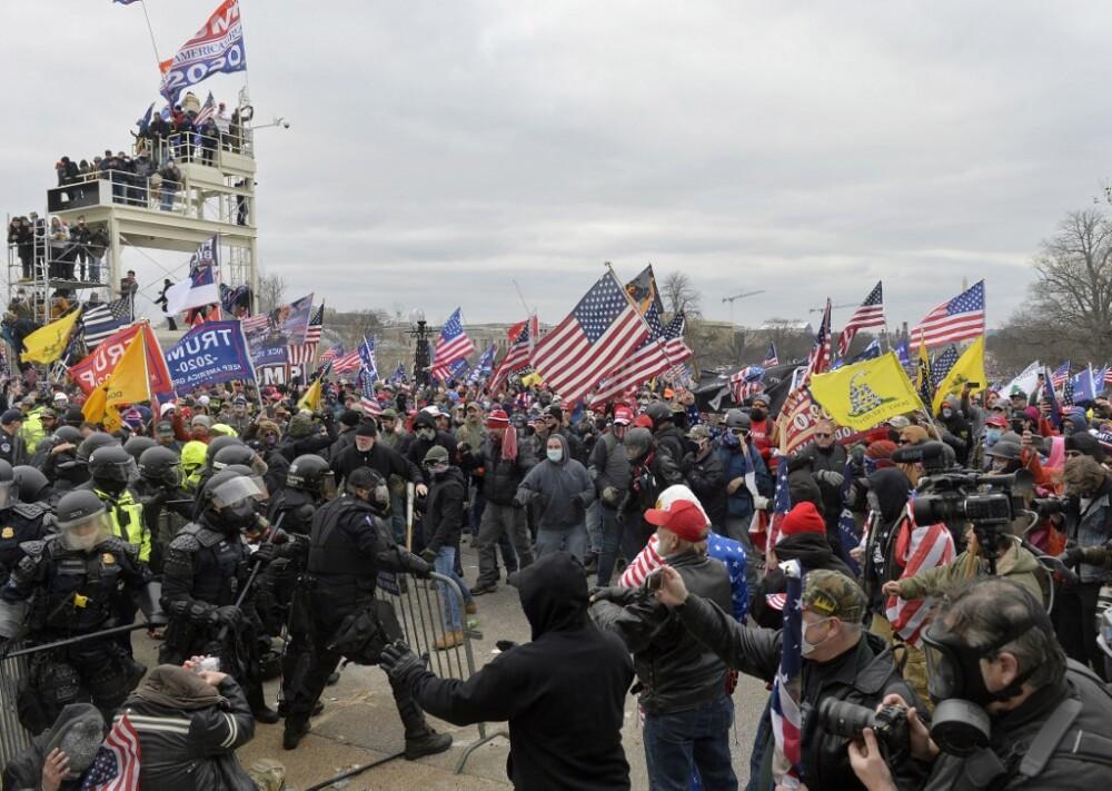 Disturbios en el Congreso de EE.UU.