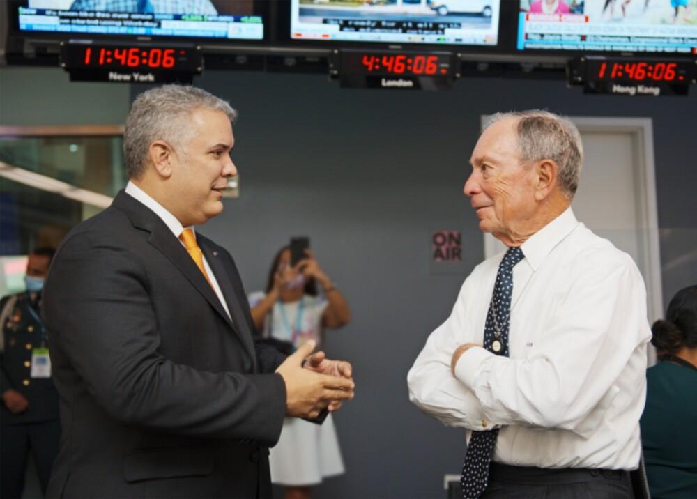 Duque y Mike Bloomberg Foto IvanDuque.jpg