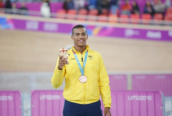 Kevin Quintero representará a Colombia en los Juegos Olímpicos de Tokio 2020.
