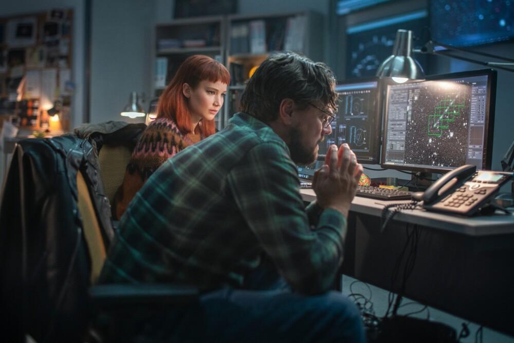 Leonardo DiCaprio y Jennifer Lawrence protagonizan 'No Miren Arriba'