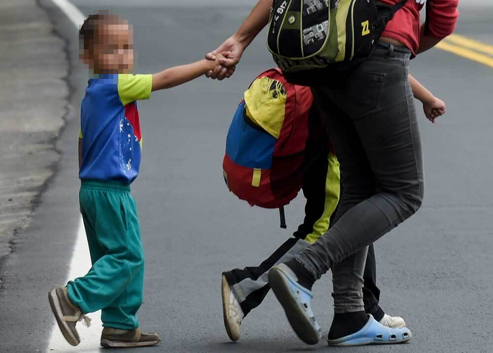 333583_BLU Radio // Niños Venezolanos // Foto: AFP