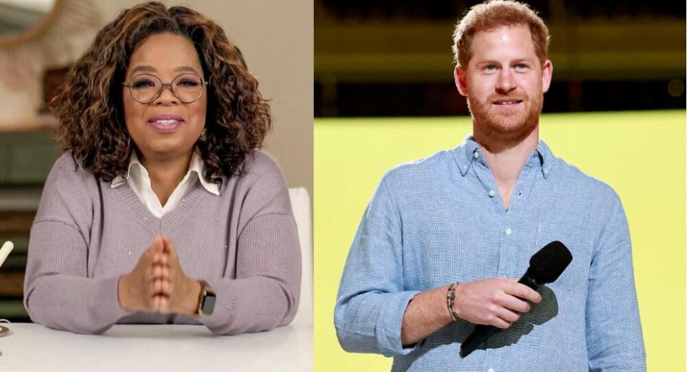 Principe Harry y Oprah