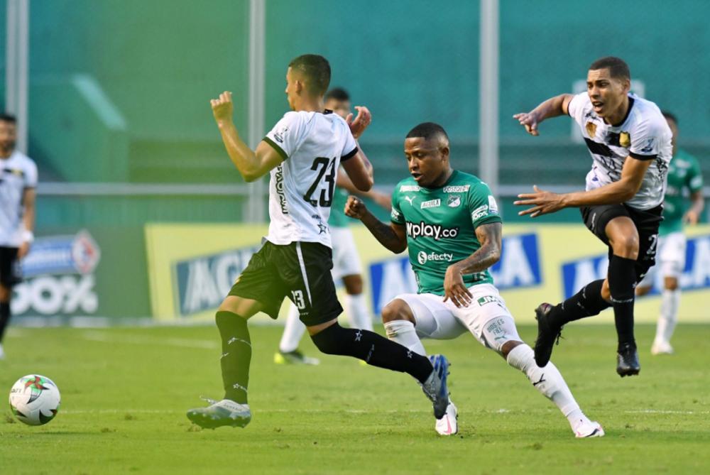 Águilas Doradas vs. Deportivo Cali. Foto: Twitter Águilas Doradas