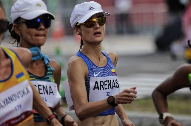 Sandra Arenas, en los Juegos Olímpicos de Tokio 2020