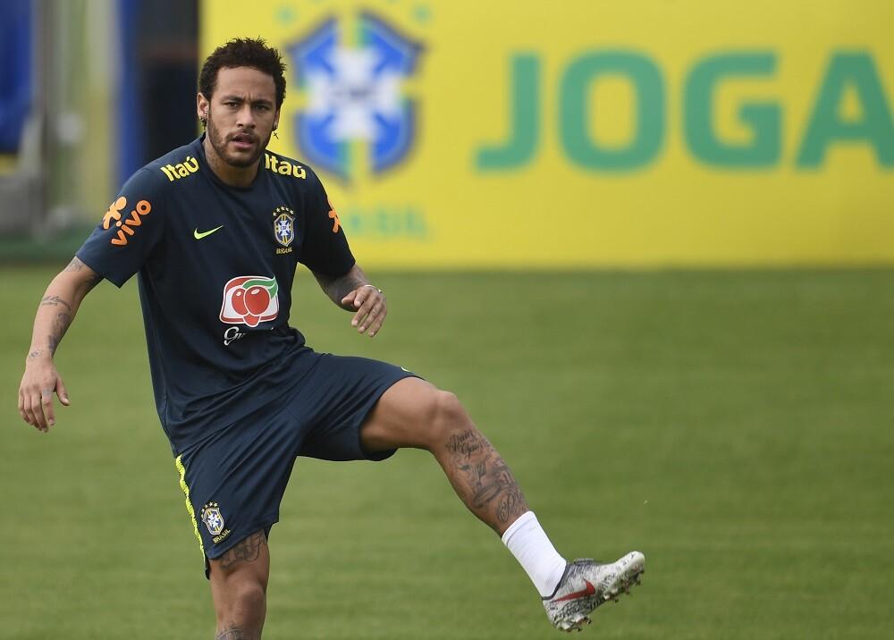 335430_BLU Radio. Neymar en entrenamiento // Foto: AFP