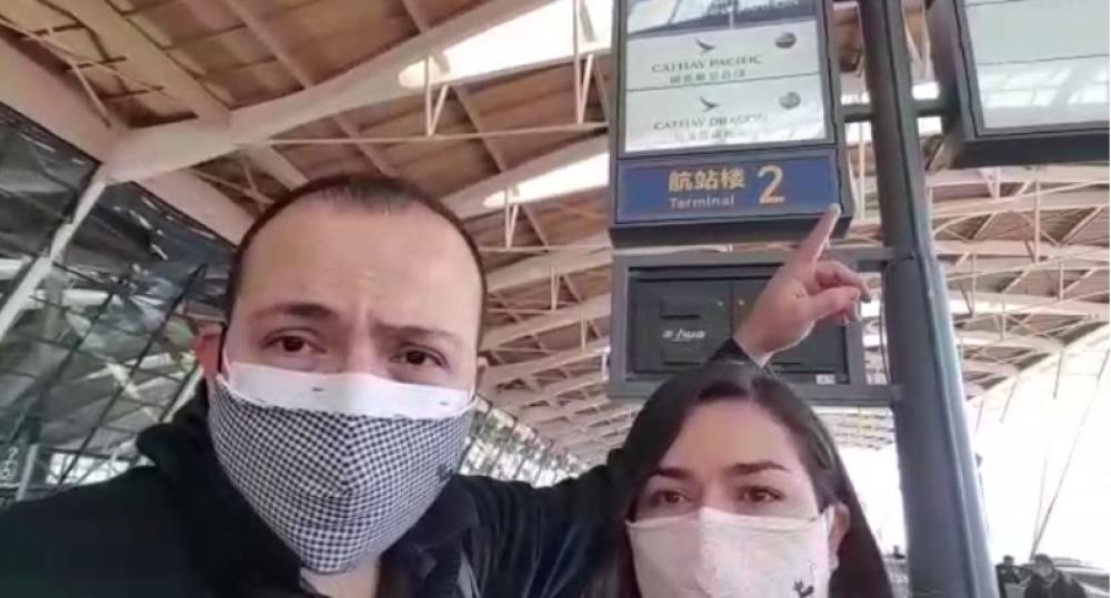 354226_BLU Radio// Familia santandereana que viajó de China a Colombia. Foto: Cortesía