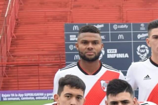 332801_Thomás Gutiérrez, jugador colombiano en River Plate