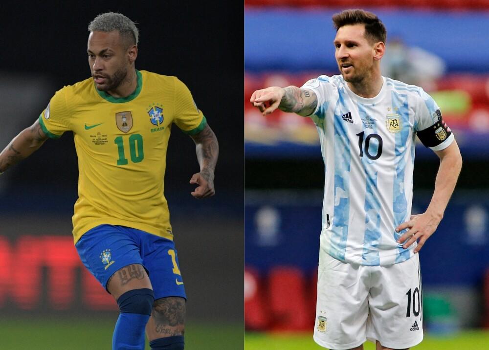 Selecciones de Brasil y Argentina Foto AFP.jpg