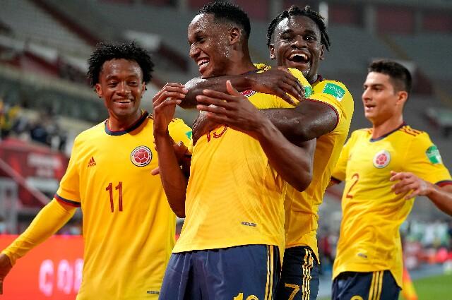 Colombia contra Ecuador por Copa América