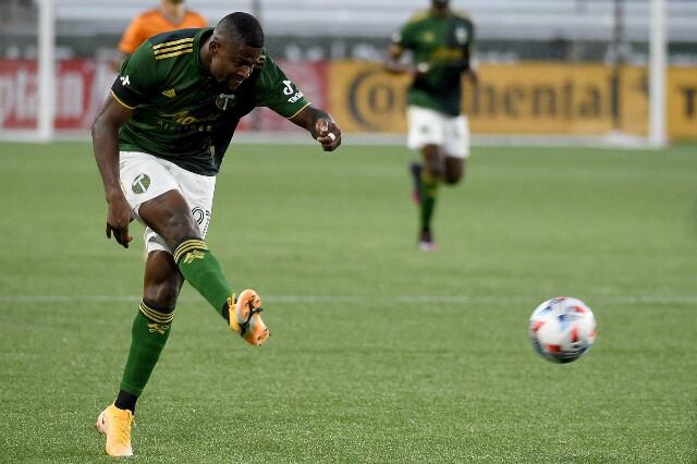 Gol de Dairon Asprilla, con Portland Timbers frente a Real Salt Lake