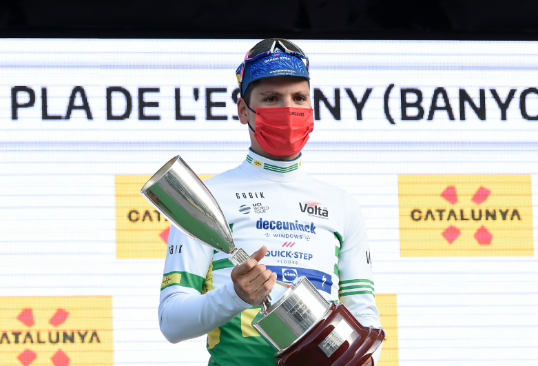 Joao, líder Vuelta a Cataluña 2021.