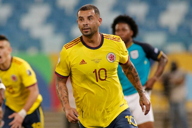 Edwin Cardona, en la Selección Colombia