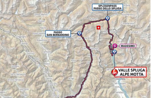 Así será la etapa 20 del Giro de Italia 2021.