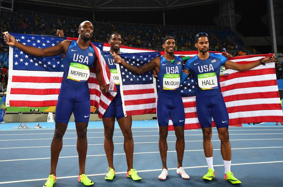 Estados Unidos es el país con más medallas en el atletismo de los Juegos Olímpicos.