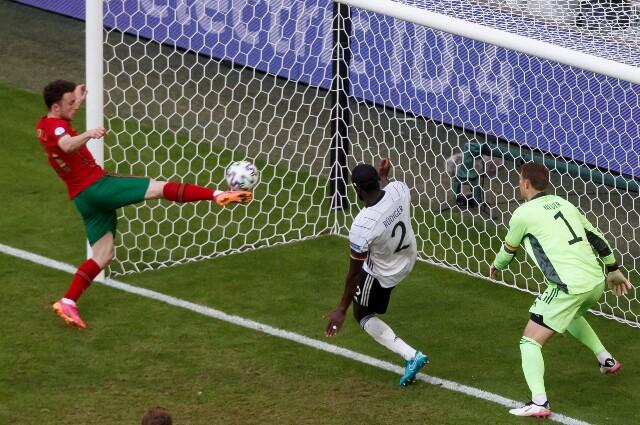 Gol de Diogo Jota en Portugal vs. Alemania