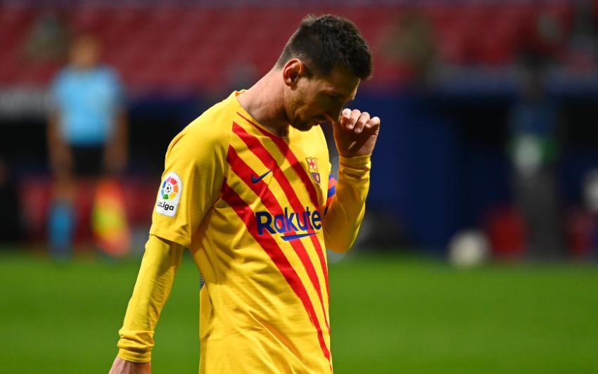 Lionel Messi, jugador argentino del Barcelona.