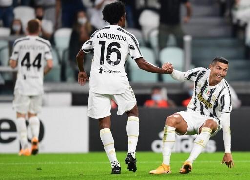 Juan Guillermo Cuadrado Juventus vs Sampdoria