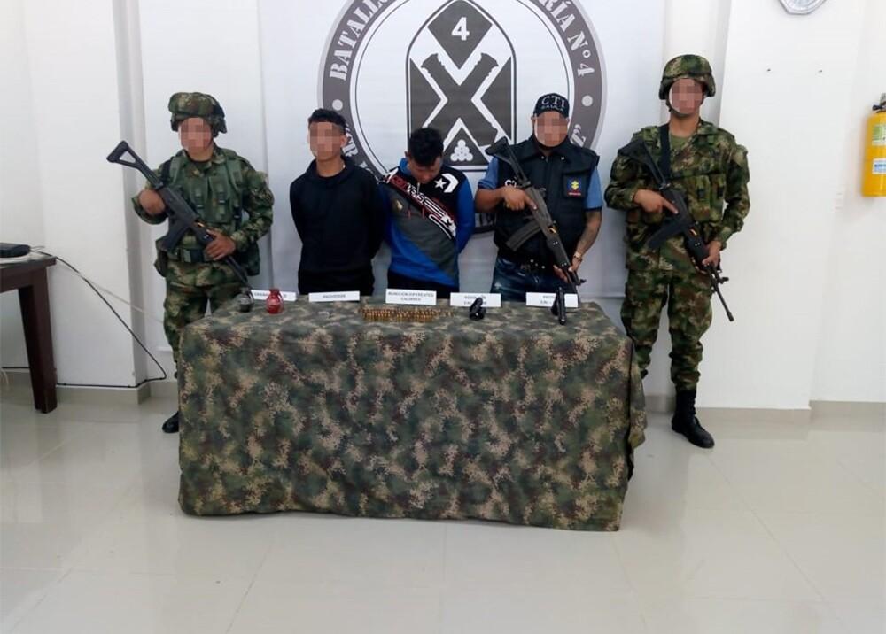 342626_BLU Radio. Capturado alias 'Mamarrón' / Foto: Ejército