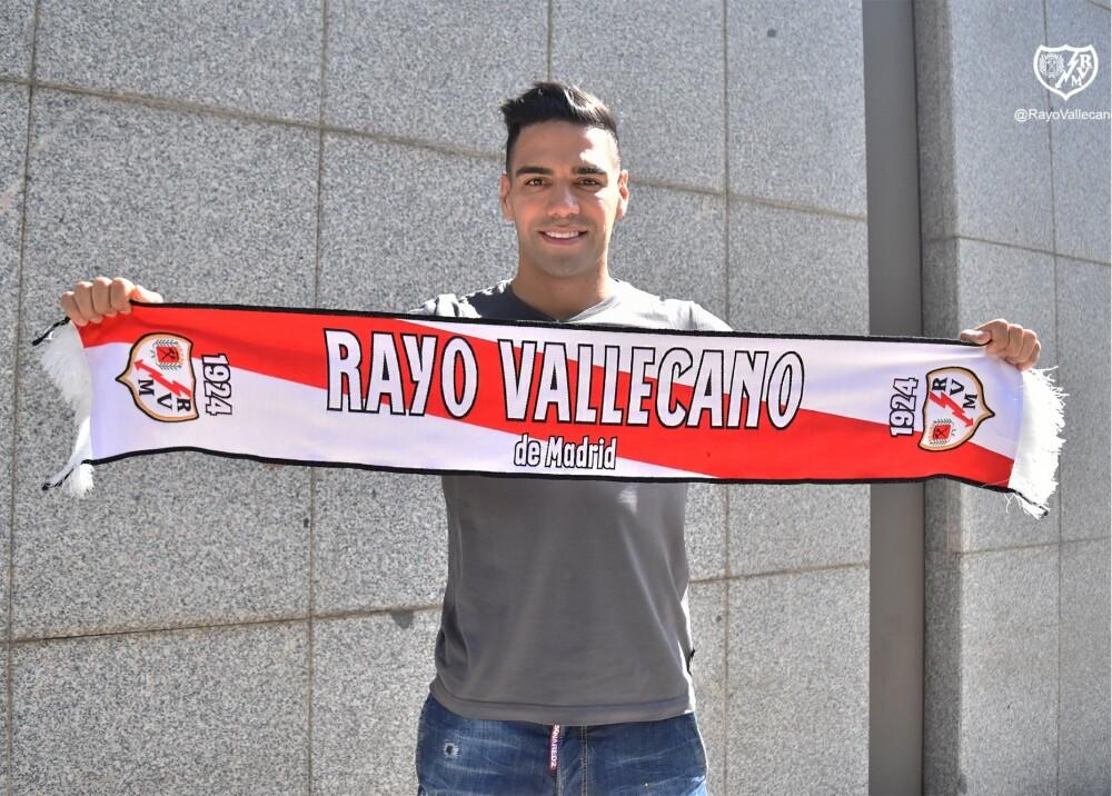 Radamel Falcao en el Rayo Vallecano Foto RayoVallecano.jpg