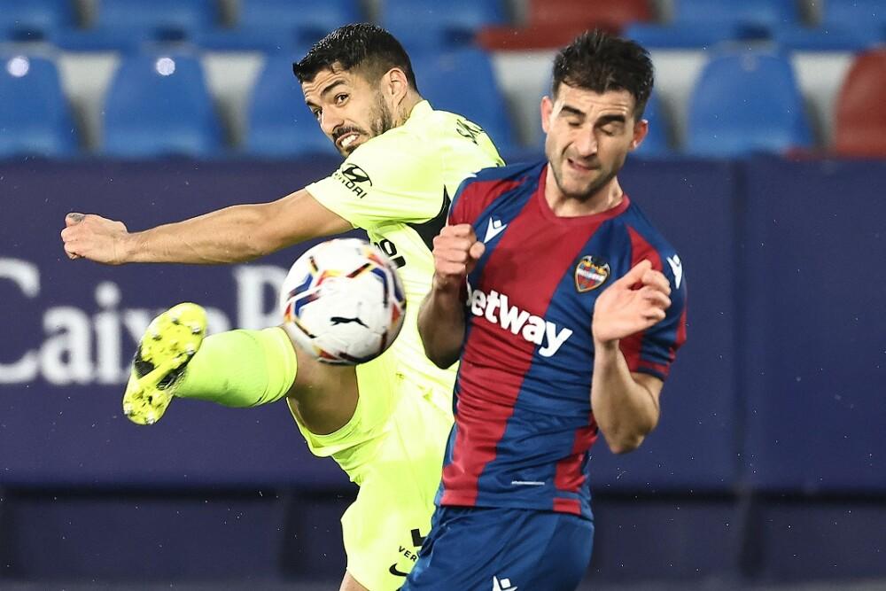 Atlético de Madrid - Levante. Foto: AFP