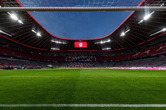 Público en el Allianz Arena para la Eurocopa