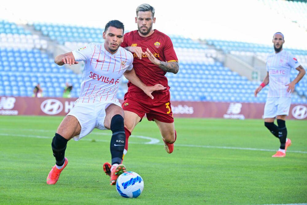 Sevilla FC v AS Roma - Pre-Season Friendly