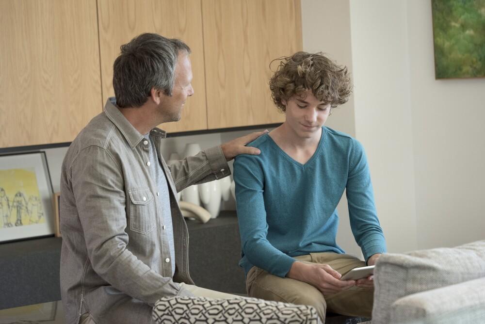 Referencia conversación padre e hijo