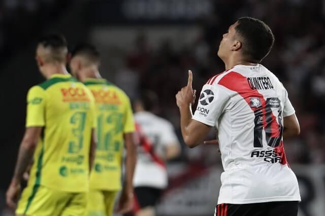 333535_Juan Fernando Quintero, jugador de River Plate