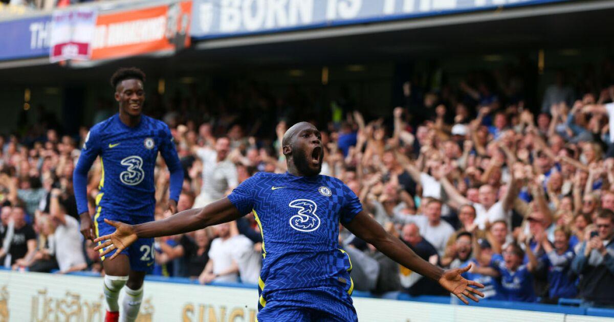 Romelu Lukaku se destacó y condujo la victoria del Chelsea: 3-0 contra Aston Villa