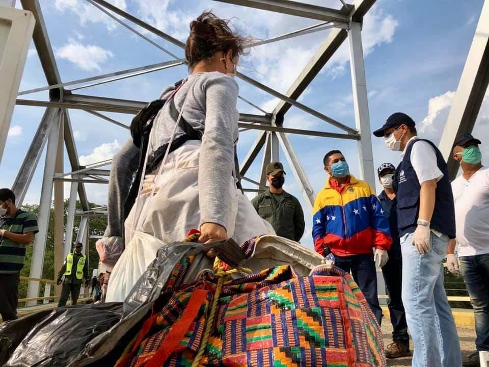 Venezolanos. Foto: Gobernación de Arauca