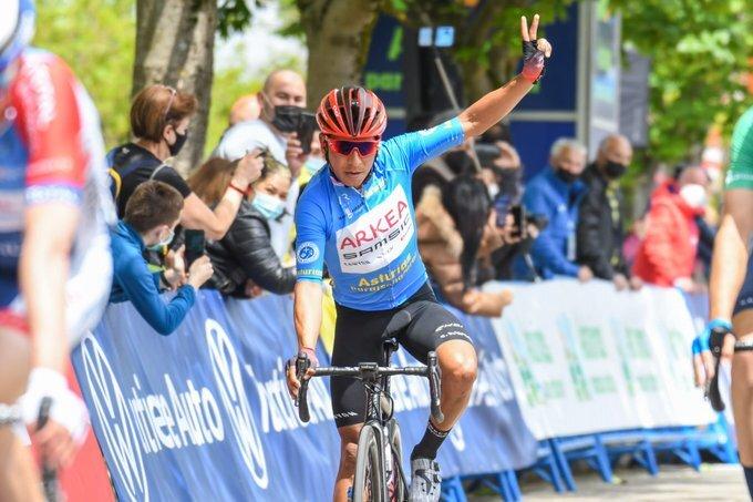 Nairo Quintana en la Vuelta Asturias
