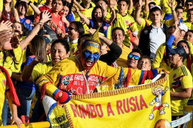 295725_Hinchas Selección Colombia
