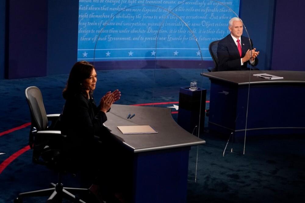 Debate vicepresidencial en EE.UU. Foto AFP