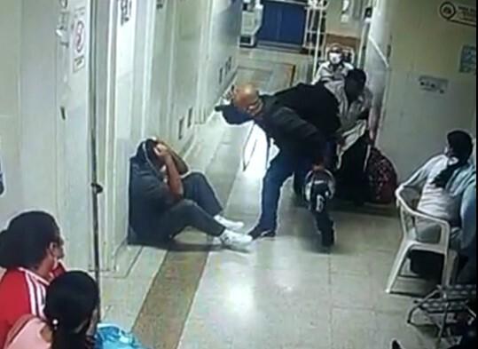Agresión a personal médico en Medellín