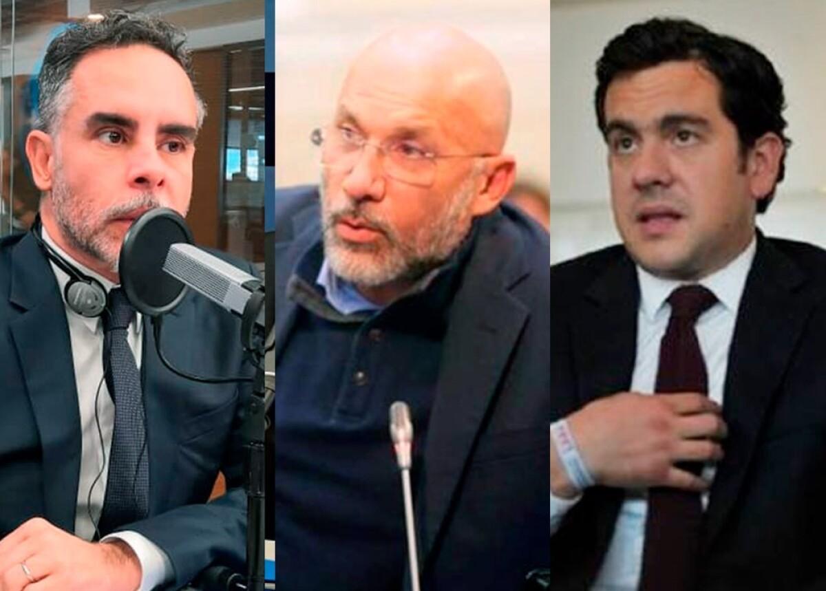 Senadores Armando Benedetti, Roy Barreras y Rodrigo Lara fotos blu, senado y el espectador.jpeg