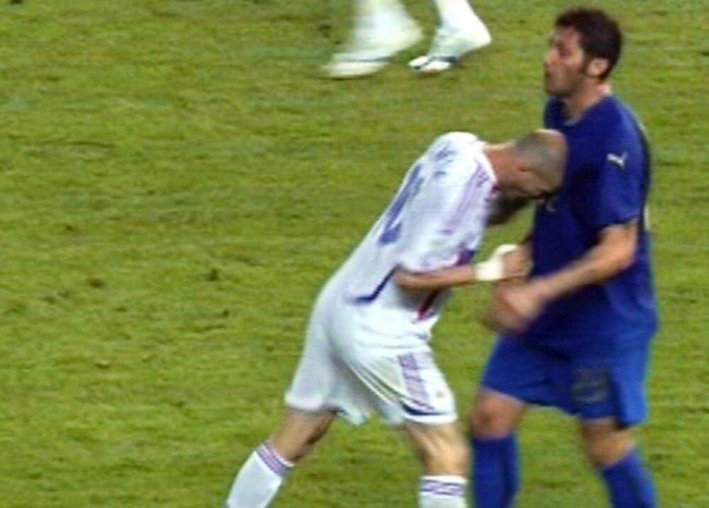 370462_El cabezazo de Zidane / AFP