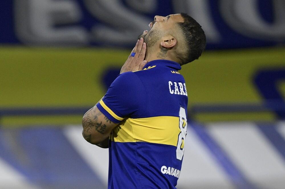 Edwin Cardona, mediocampista de Boca Juniors