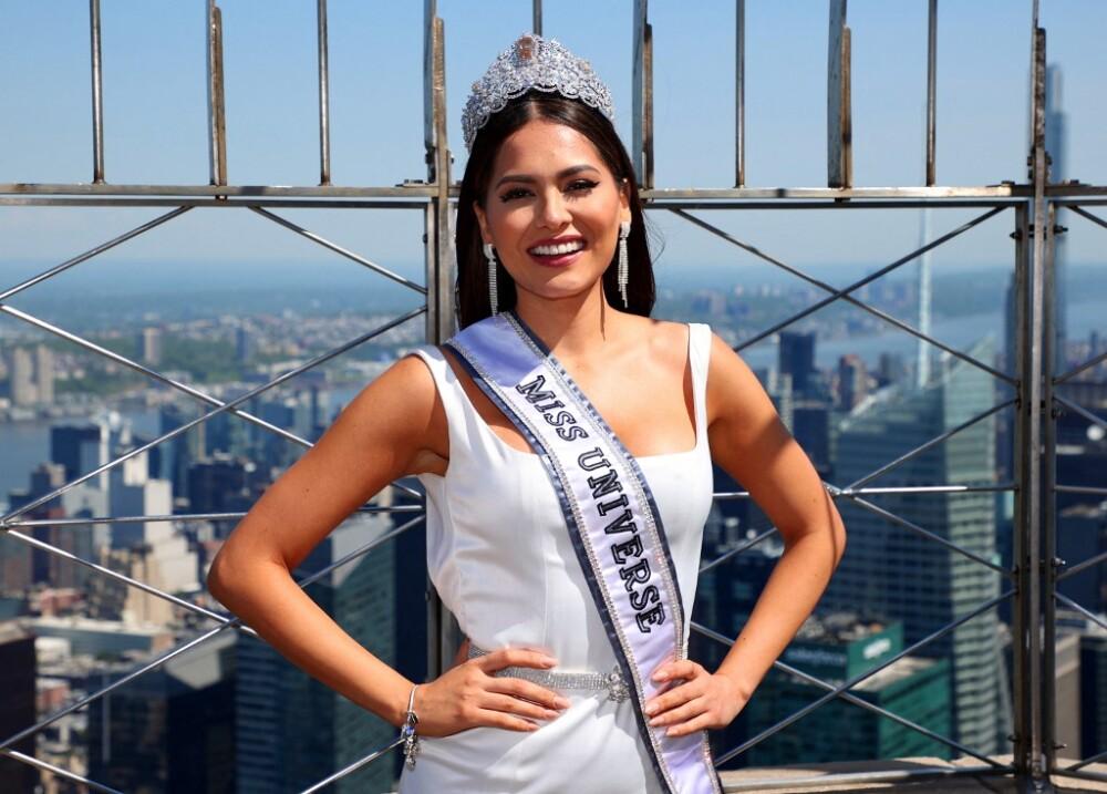 Andrea Meza, Miss universo