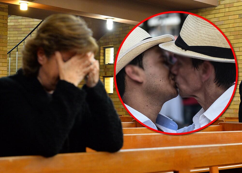 377246_Religión - pareja gay // Fotos: AFP, imágenes de referencia