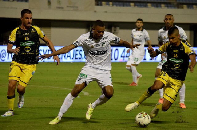 Alianza Petrolera contra Deportivo Cali, en la Liga colombiana