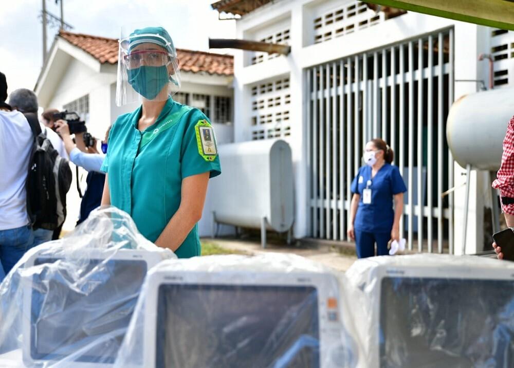 371389_BLU Radio: Ventiladores Hospital del Socorro / Foto: Suministrada