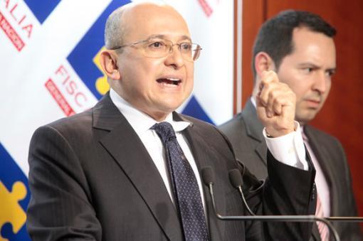 26165_Fiscal Eduardo Montealegre Foto: Fiscalía