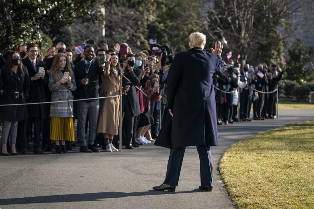 Reaparición de Donald Trump tras el asalto de sus seguidores al Capitolio en Washington.jpeg