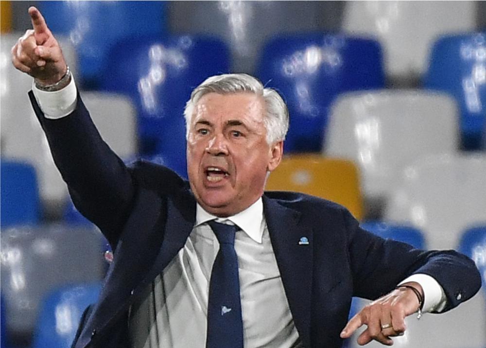 344690_BLU Radio. Carlo Ancelotti / Foto: AFP