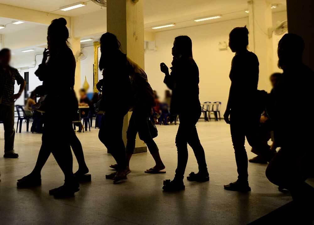 336027_BLU Radio // Imagen de referencia trata de personas // Foto: AFP